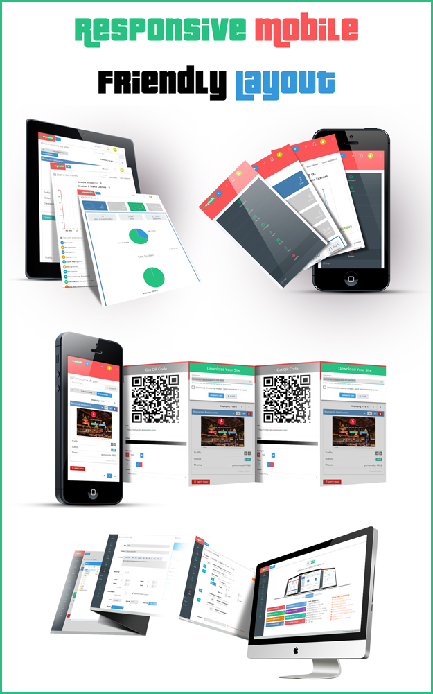 gomymobiBSB 2021 (v3): B2C Site & Store Builder with Domains, Element Builder, Paypal, Chat - 3
