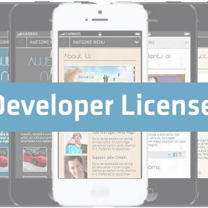 _AMSB - Awesome Mobile Site Builder - Developer License