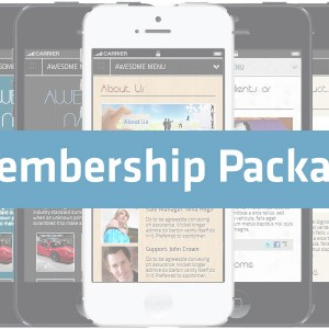 AMSB - Awesome Mobile Site Builder - Membership Package