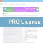 pTemplate: PRO License