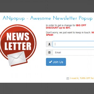 ANpopup Theme: Bootstrap