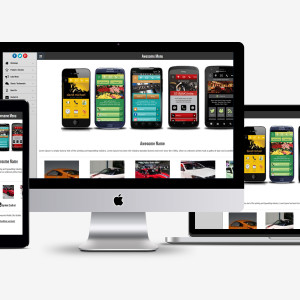 Awesome Mobile Site Builder - Modern Themes